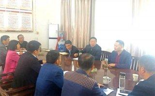 王志义在调研抽水蓄能电站项目区征收工作时要求点木:做好群众工作 加快项目建设